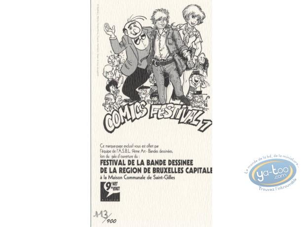 Ex-libris Offset, Hommage à la BD 1 (petit, n&b)