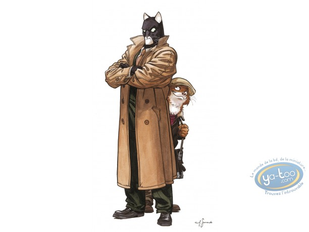 Affiche Offset, Blacksad : John & Weekly