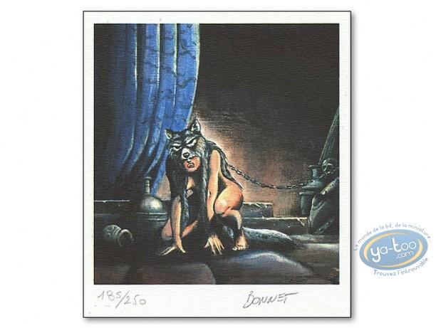 Ex-libris Offset, Attila mon Amour : Femme Loup