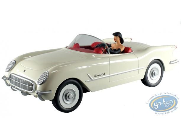 Véhicule de BD, Pin-Up : Corvette 53, Michel Aroutcheff