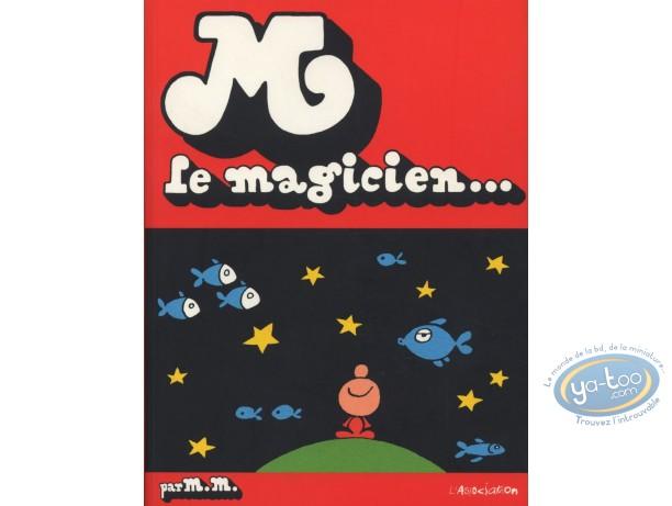 BD cotée, M Le magicien : Mattioli, M Le Magicien