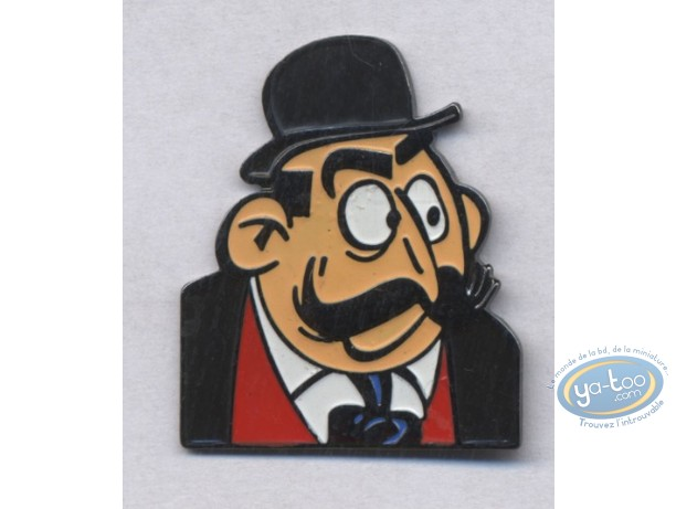 Pin's, Spirou et Fantasio : Mr Le maire
