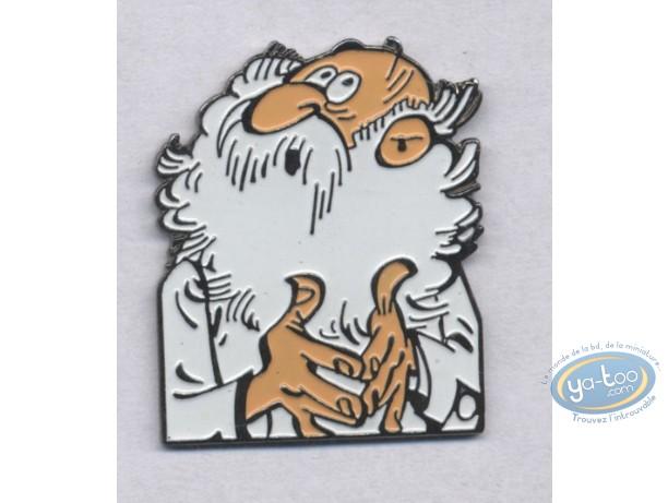 Pin's, Spirou et Fantasio : Le biologiste
