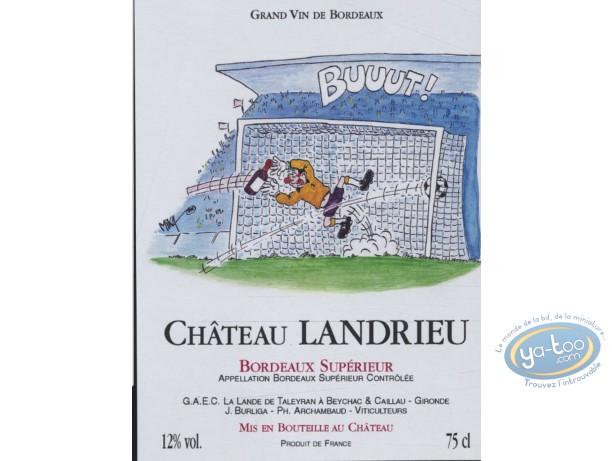 Etiquette de Vin, Buuut - Chateau Landrieu