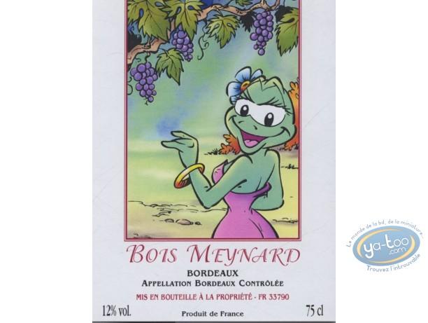 Etiquette de Vin, Boogy et Rana : Boogy & Rana - Bois Meynard