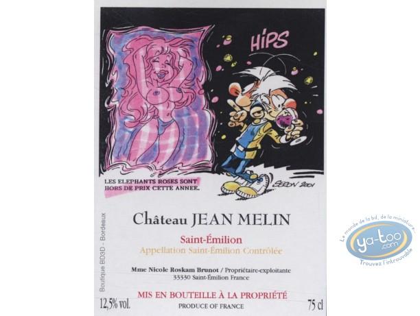 Etiquette de Vin, Petits Hommes (Les) : Les petits hommes - Le mirage - Chateau Jean Melin