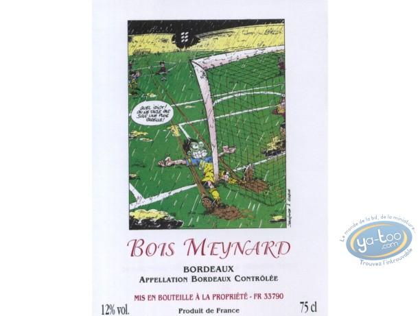 Etiquette de Vin, Foot - Bois Meynard