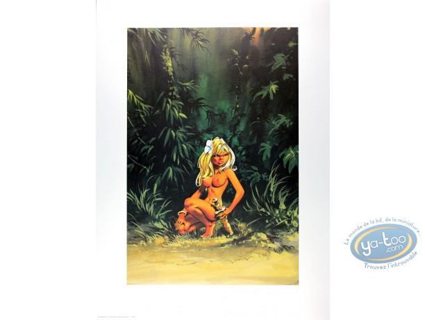Affiche Offset, Olivier Rameau : Colombe dans la jungle
