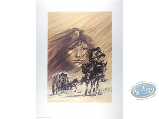 Affiche Offset, Buddy Longway : Chinook