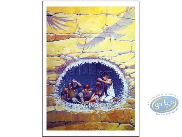 Affiche Offset, Thorgal : Entre Terre et Lumière