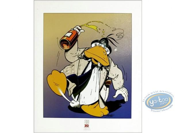Affiche Offset, Canardo : Canardo ivre