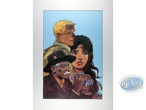Affiche Offset, Recherche de Peter Pan (A la) : 3 visages