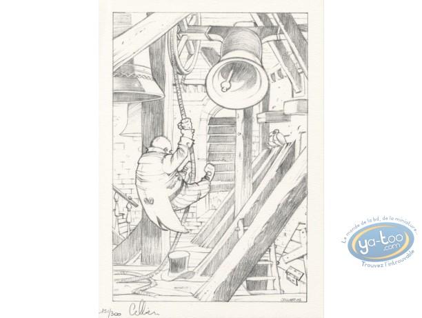 Ex-libris Offset, Maître du Hasard (Le) : La cloche