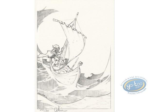 Ex-libris Offset, Maître du Hasard (Le) : Le bateau