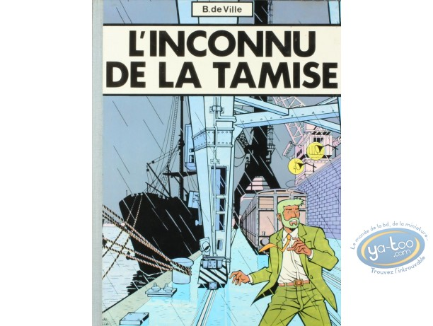 Album de Luxe, Inconnu de la Tamise (L') : L'inconnu de la Tamise