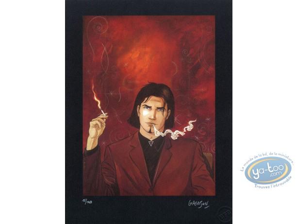 Affiche Offset, Niklos Koda : Niklos Koda fumant