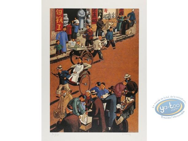 Affiche Offset, Shangaï