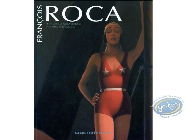 Livre, Catalogue d'Exposition : Peintures et couvertures
