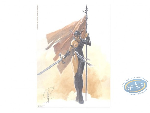 Ex-libris Offset, Geste des Chevaliers Dragons (La) : Guerrière au drapeau