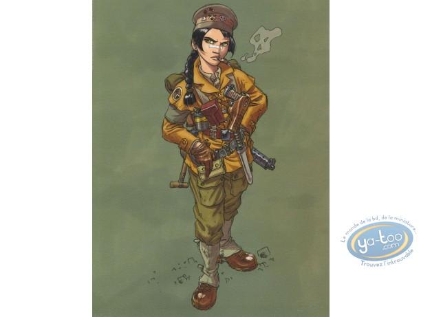 Affiche Offset, Sillage : Soldat