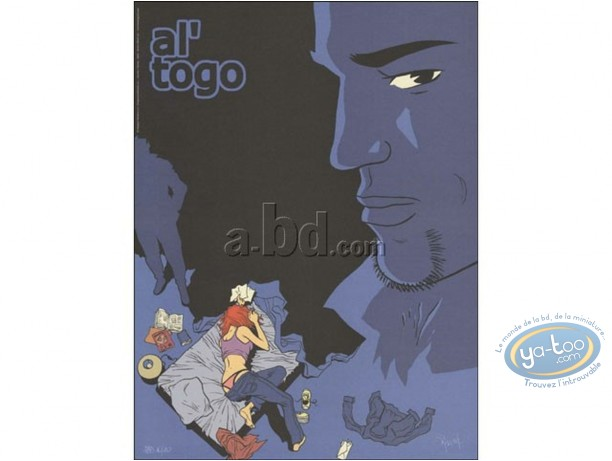 Affiche Offset, Al'Togo : Savoia, Al'Togo