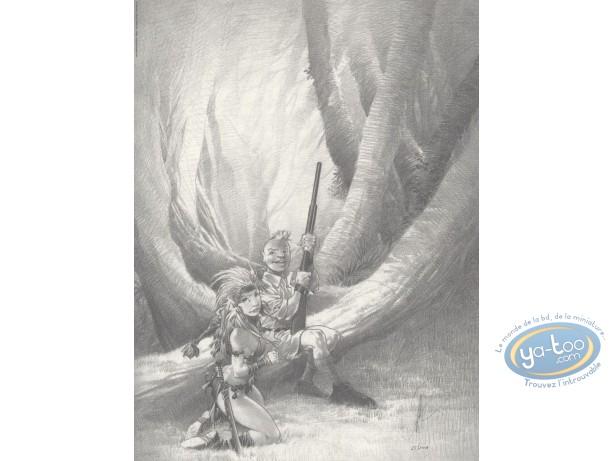 Affiche Offset, Le chasseur