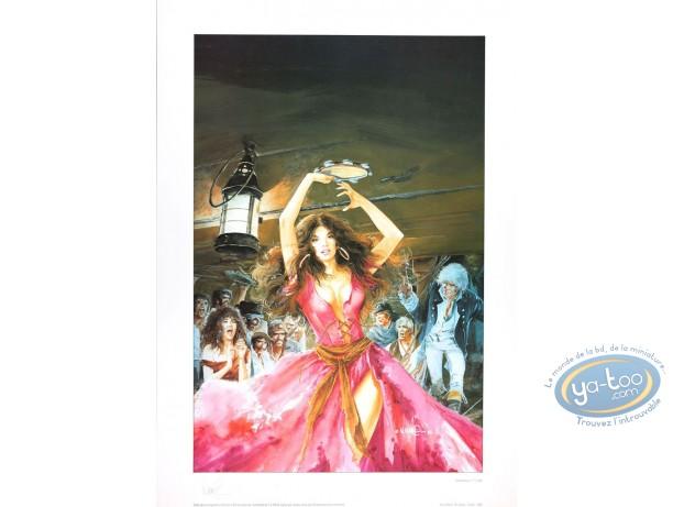Affiche Offset, Bruce Hawker : L'Orgie des Damnés