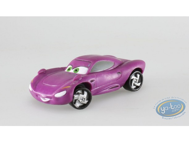 Figurine plastique, Cars 2 : Holley shiftwell