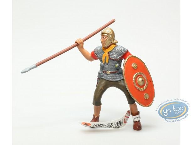 Figurine plastique, Légionnaire avec lance