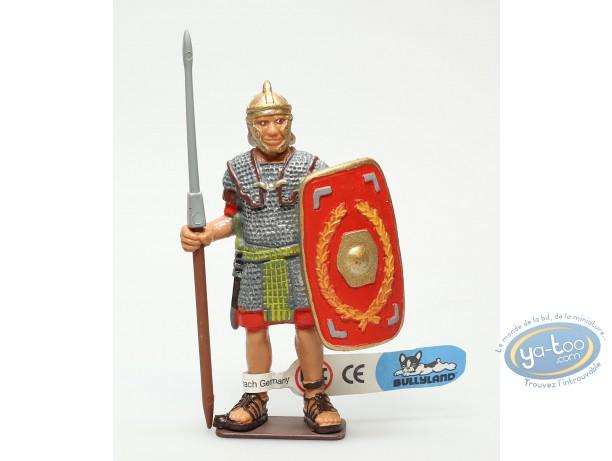 Figurine plastique, Légionnaire droit avec lance brune