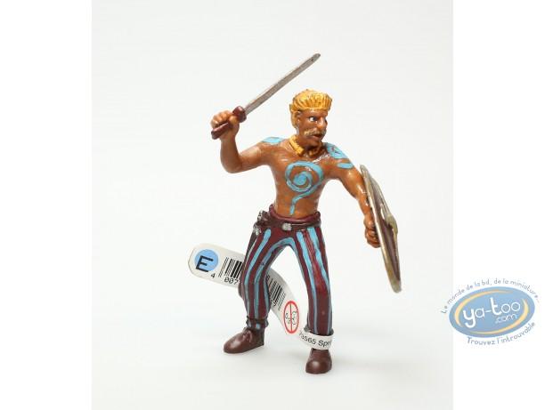 Figurine plastique, Celte