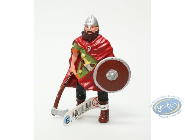 Figurine plastique, Viking avec axe