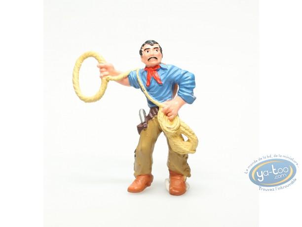 Figurine plastique, Wild West : Cowboy avec lasso