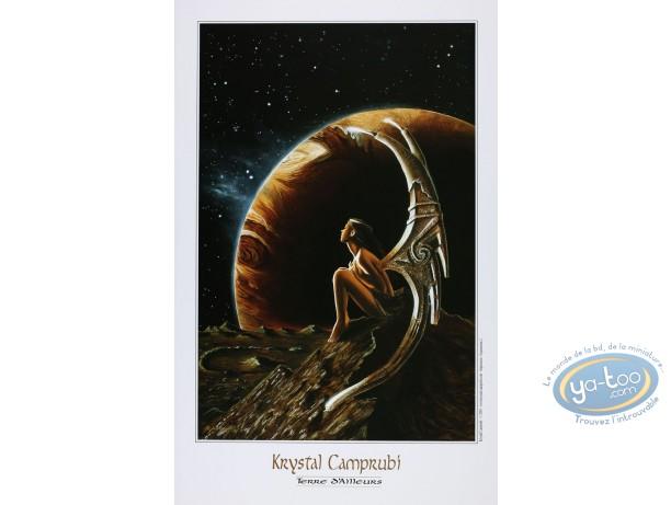 Affiche Offset, Krystal Camprubi : Camprubi, Terre d'Ailleurs
