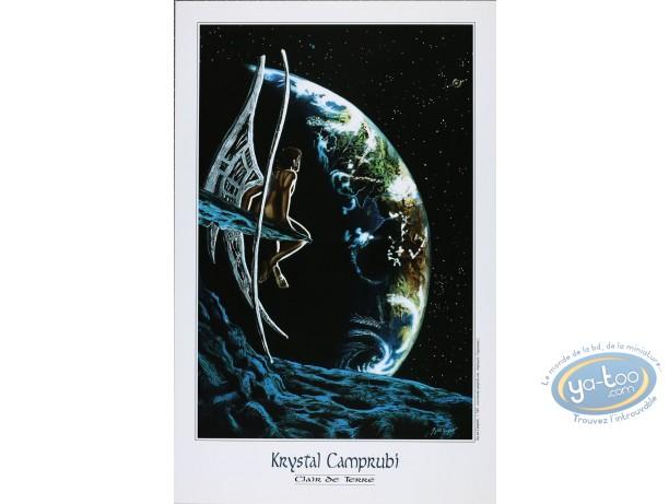 Affiche Offset, Krystal Camprubi : Camprubi, Clair de Terre