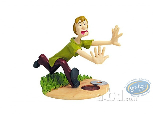 Statuette résine, Scooby-Doo : Sammy effrayé