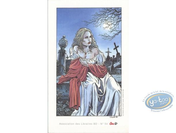 Ex-libris Offset, Prince de la Nuit (Le) : Elise dans le cimetière