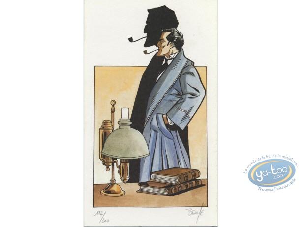 Ex-libris Offset, Sherlock Holmes : L'ombre