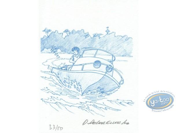 Ex-libris Offset, Jimmy Tousseul : le bateau