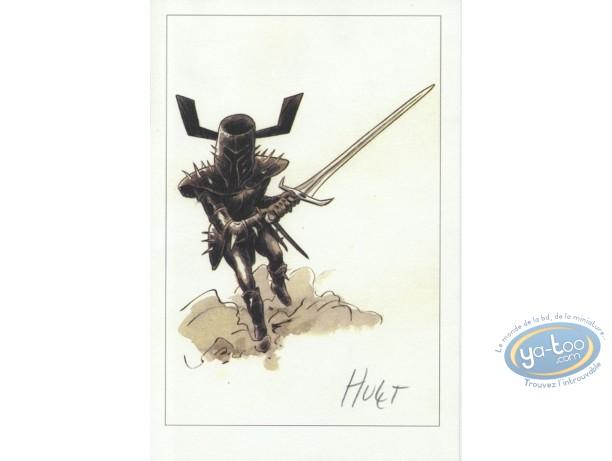Ex-libris Offset, Extra-Muros : Chevalier noir