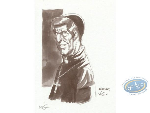 Ex-libris Offset, Messager (Le) : prêtre