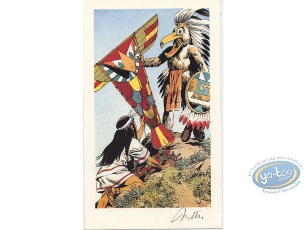 Ex-libris Offset, Quetzacoatl : Sorcier