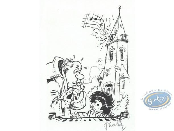 Ex-libris Offset, P'tit Bout de Chique (Le) : Le P'tit Bout de Chique et le curé