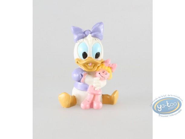 Statuette résine, Mickey Mouse : Daisy bébé, Disney
