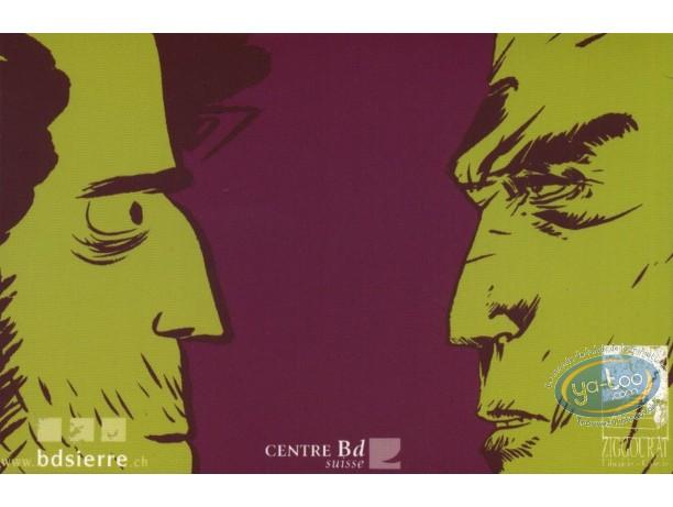 Carte postale, Festival international de la bande dessinée de Sierre