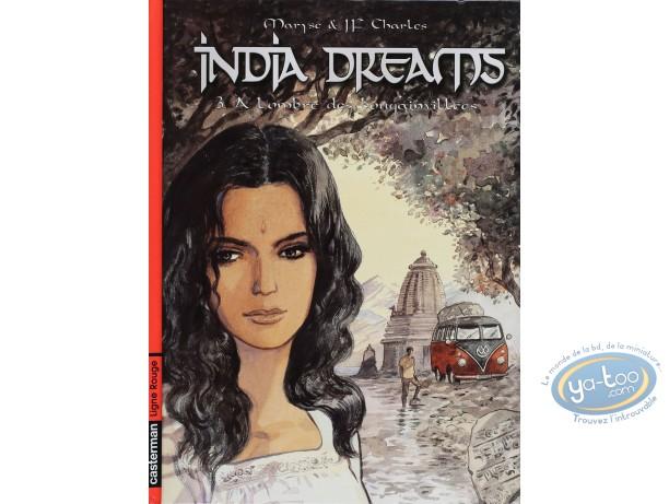 BD cotée, India Dreams : India Dreams, A L'ombre des Bougainvillées