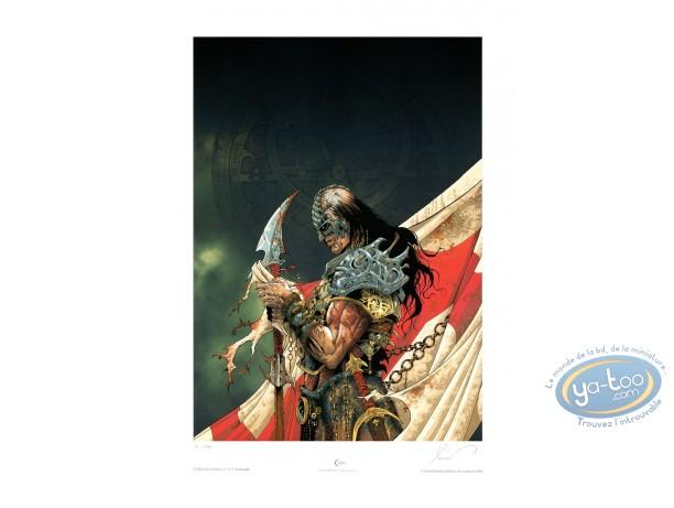 Affiche Offset, Croisades : Le Maître des Machines