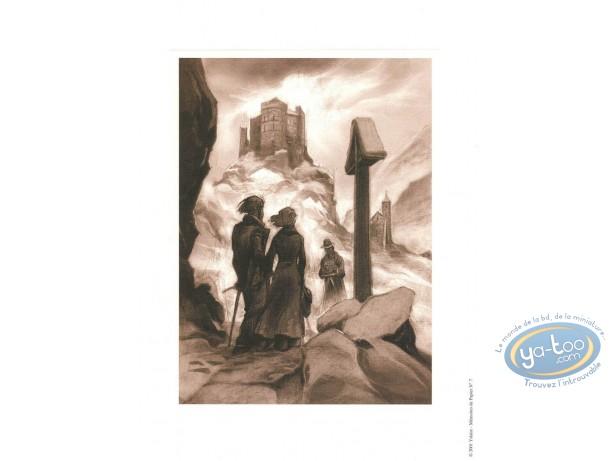 Affiche Offset, Xxème Ciel (Le) : Photo en montagne