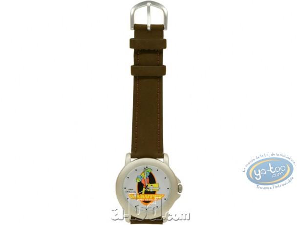 Horlogerie, Simpson (Les) : Montre, Bart skate (bracelet cuir)