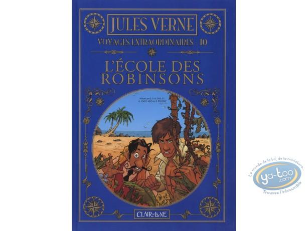BD occasion, Voyages Extraordinaires : L'école des Robinsons